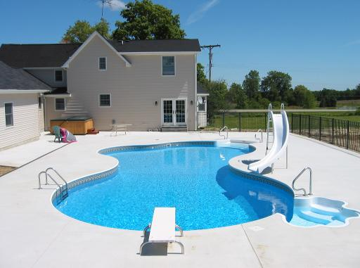 Ndk contracting llc swimming pool builder michigan pool for Pool show mi